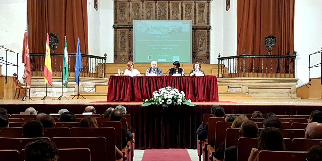 La ciudad de Úbeda acoge la XXIII edición de las Jornadas de la Asociación de Letrados del Tribunal Constitucional