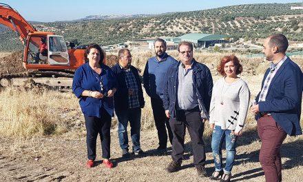 Comienzan las obras del Camino del Cerro de la Horca, incluidas dentro del II Plan Director de Arreglos de Caminos Rurales de Úbeda