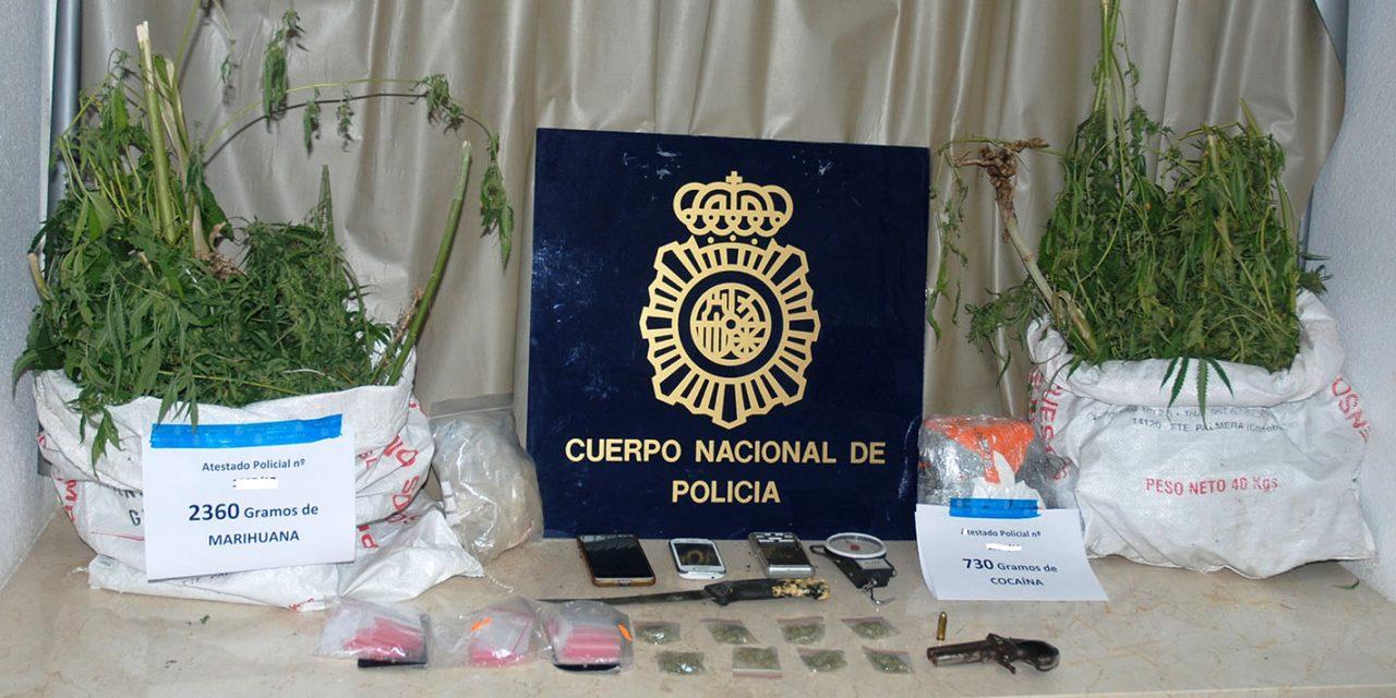 La Policía Nacional se incauta de 930 gramos de cocaína en un operativo contra la droga en Úbeda