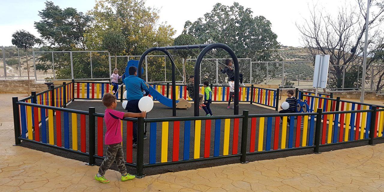 El Parque de la Alameda ya luce una imagen mejorada, tras una intervención integral