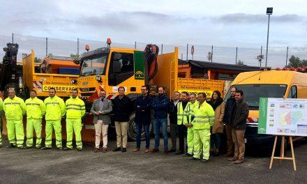 La Junta despliega a 140 profesionales y 42 equipos mecánicos para garantizar la seguridad este invierno en sus carreteras