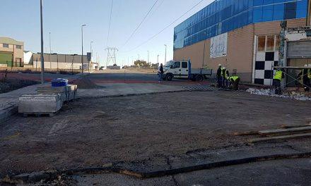Comienzan las obras para unir los dos sectores del Polígono Industrial de Úbeda
