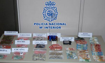 """La Policía Nacional desmantela un """"supermercado de droga"""" en Úbeda"""