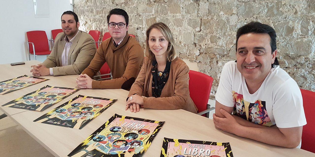 La XX Feria del Libro y el VI Festival del Cómic Europeo se unen para potenciar las actividades culturales en Úbeda
