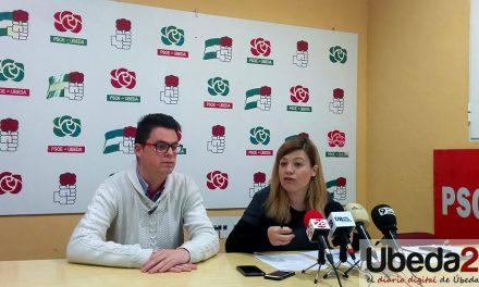 Lozano y Berja critican en Úbeda la política de pensiones del Partido Popular