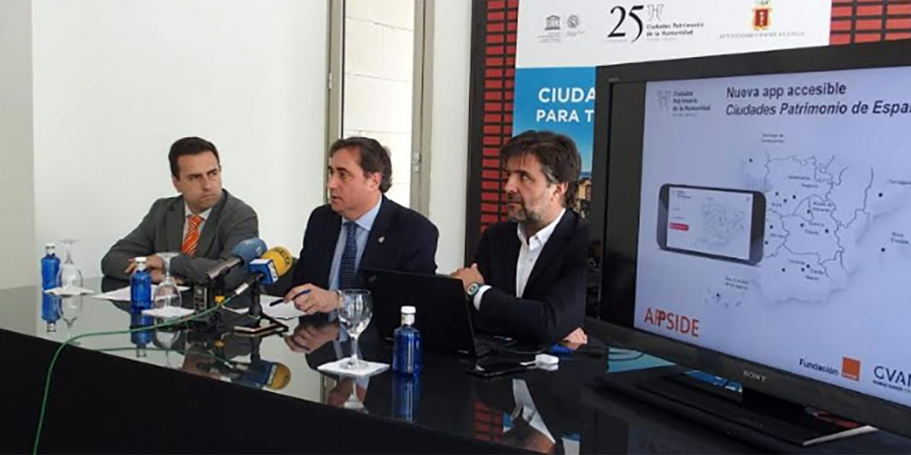La app 'Ciudades Patrimonio de España' potencia el turismo cultural accesible