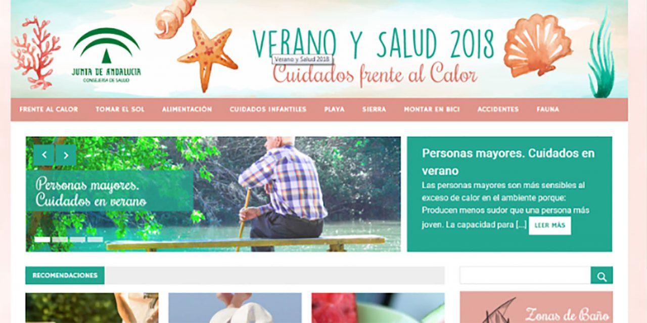 La web del Complejo Hospitalario de Jaén ofrece a los jiennenses información práctica sobre cómo cuidarse durante este verano