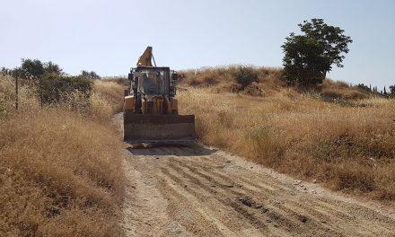 Agricultura intervendrá durante este mes en el camino de la Asperilla