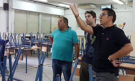 Casi finalizadas las labores de mantenimiento en los colegios de nuestra localidad