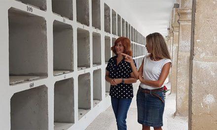 Rehabilitada la galería este del primer patio del cementerio de San Ginés