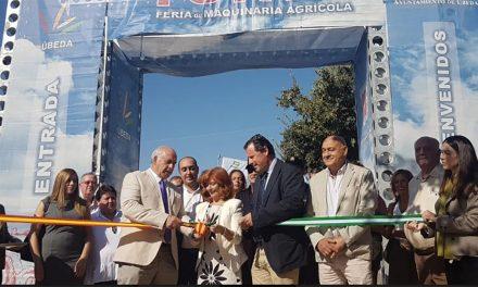 La Feria de la Maquinaria de Úbeda abre sus puertas desde hoy hasta el próximo domingo