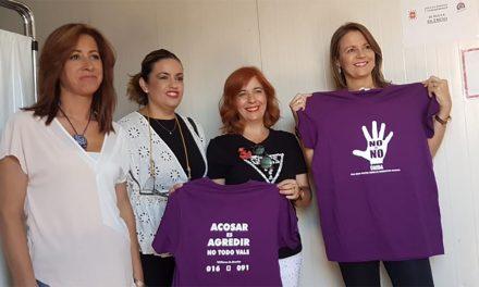El Punto Morado en la Feria de Úbeda centro de la campaña de prevención y asesoramiento ante agresiones sexuales