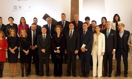 S.M. la Reina Doña Sofía recibe el Premio Patrimonio 2018