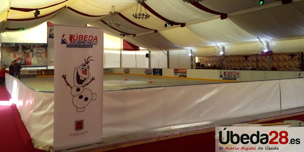 Pista de Parinaje sobre hielo en la Plaza de Toros hasta el 20 de enero