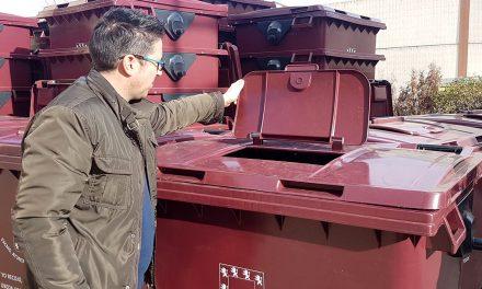 El Ayuntamiento de Úbeda adquiere 390 contenedores para renovar los más deteriorados en la ciudad y sus pedanías