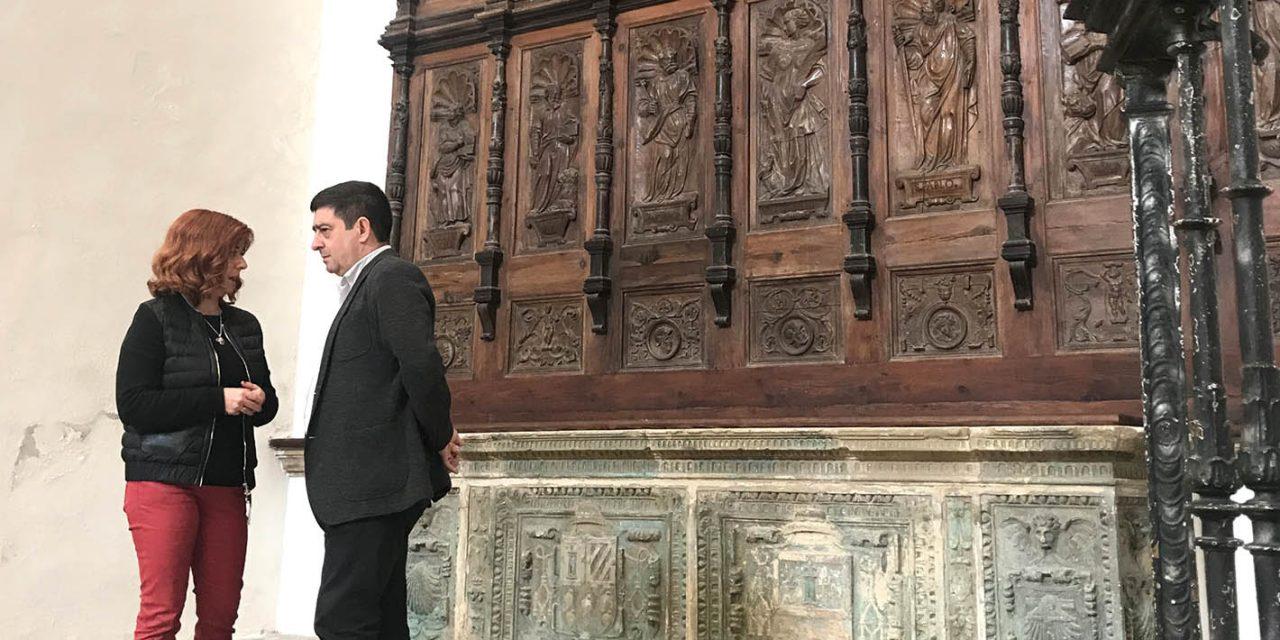 Diputación destinará otros 125.000 euros para adecuar la zona del coro del Hospital de Santiago de Úbeda