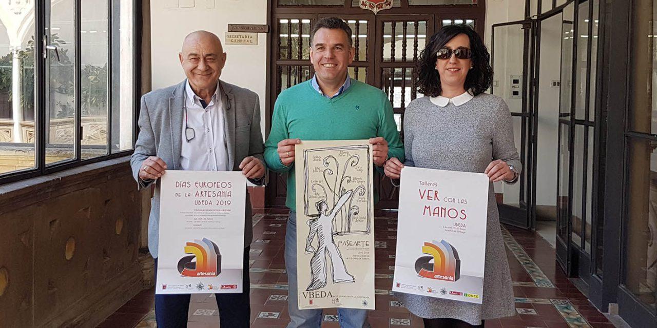 Úbeda volverá a celebrar los 'Días Europeos de la Artesanía'