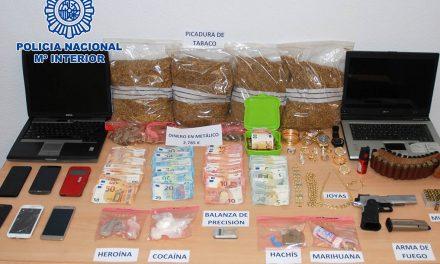 SUCESOS | Desmantelado un punto negro de venta de sustancias estupefacientes en Úbeda