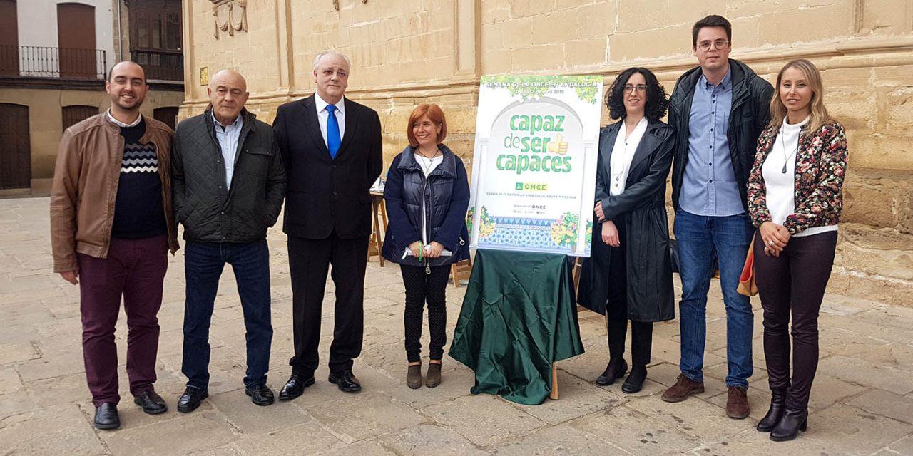 La ONCE desarrolla en Úbeda su semana 'Capaz de ser capaces'