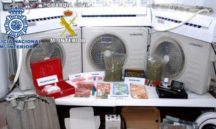La Policía Nacional y la Guardia Civil desmantelan en Úbeda un laboratorio clandestino de cultivo y elaboración de marihuana