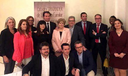 La Cátedra Santander de Empresa Familiar de la UJA reconoce a la empresa Grúas Ruiz