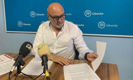 """PP de Úbeda critica el """"constante retraso"""" de los Fondos DUSI por los """"continuos errores del PSOE"""""""