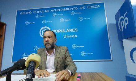 """PP de Úbeda tilda de """"mediocre"""" la acción política de un Gobierno socialista """"con pocas aspiraciones"""""""