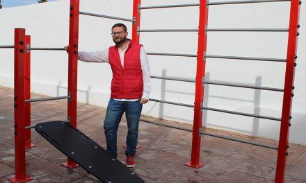 Úbeda pone en marcha el nuevo espacio para la práctica de calistenia