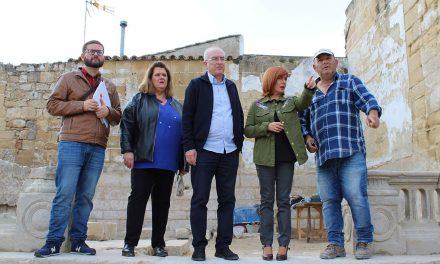 Recuperan  nuevos restos arqueológicos en la antigua Iglesia de Santo Tomás