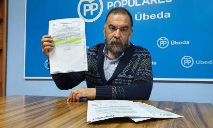 """PP de Úbeda denuncia el """"estado de irregularidad"""" del servicio de zona azul"""