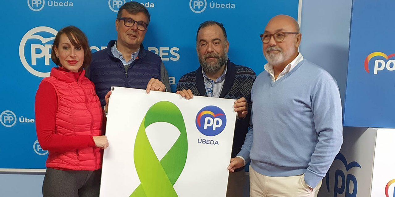 """Apoyo """"total"""" del PP de Úbeda a las reivindicaciones del sector del olivar"""