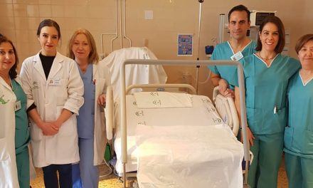 El Hospital 'San Juan de la Cruz' de Úbeda incorpora dos nuevas camas de partos