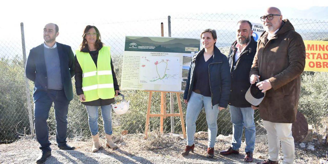 Maribel Lozano visita las Puertas Verdes de Úbeda y Andújar, donde la Consejería de Agricultura invierte cerca de 600.000€