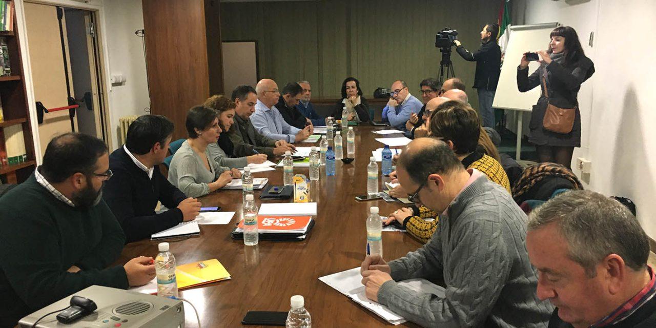 Las mesas técnicas de Empleo e Industria y de Agricultura y Desarrollo Sostenible completan una nueva sesión de trabajo para impulsar la ITI de Jaén