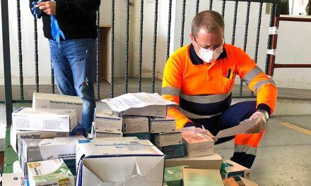 CRISIS CORONAVIRUS   Varios centros educativos donan material de protección al Hospital de Úbeda