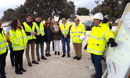 Catalina Madueño asegura que las obras de la A-32 entre Torreperogil y Villanueva del Arzobispo avanzan a buen ritmo
