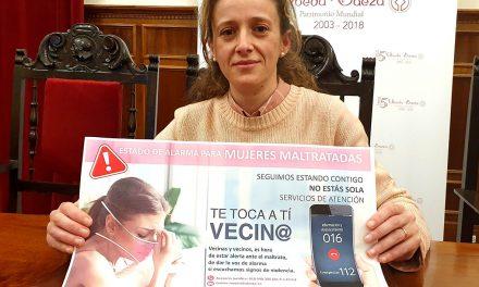 Úbeda lanza la campaña 'Te toca a ti, vecino, vecina' contra la violencia machista