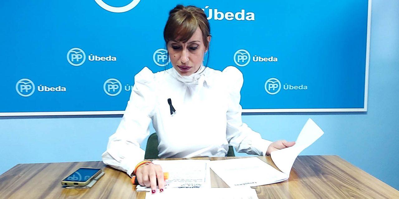 """PP de Úbeda tilda de """"tomadura de pelo"""" las medidas sociales del Plan de Reactivación del PSOE"""