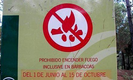 Prohibidas las barbacoas y quemas agrícolas en los espacios forestales de Andalucía