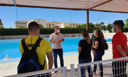 El complejo de piscinas municipal de Úbeda ya abierto a la ciudadanía