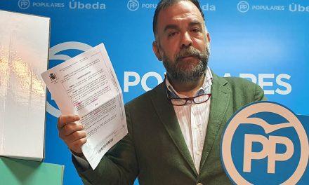 PP de Úbeda exige explicaciones por la puesta en marcha de la zona azul durante el Estado de Alarma