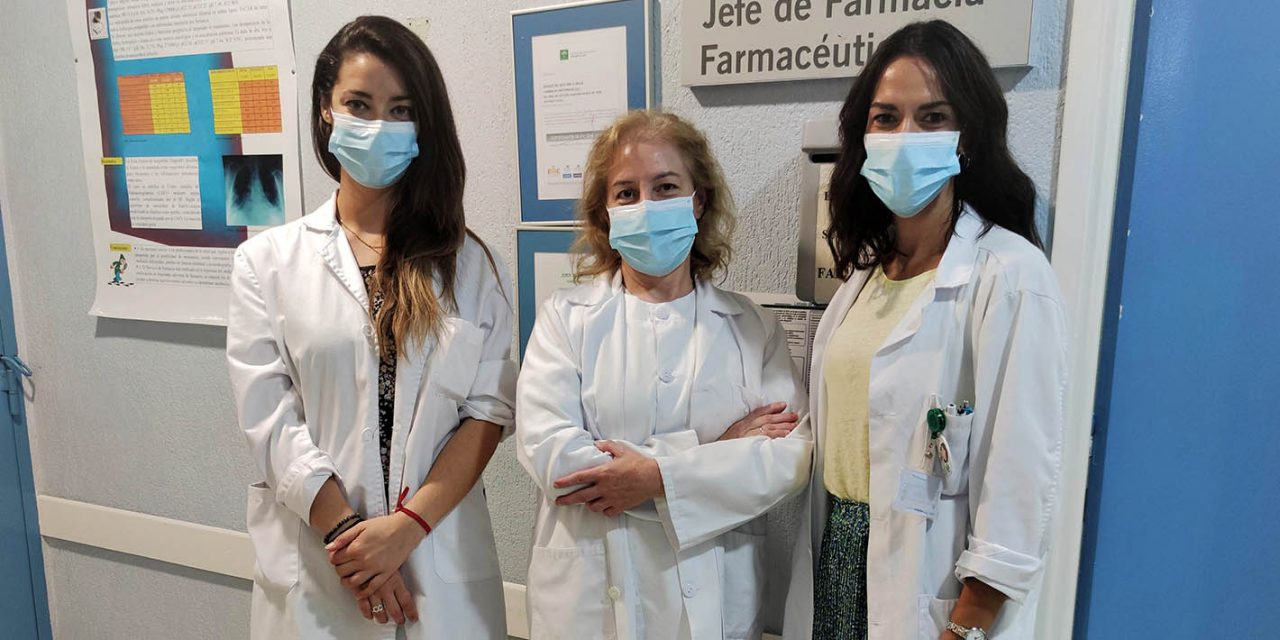 La Farmacia del Hospital de Úbeda participa en un estudio sobre Covid-19