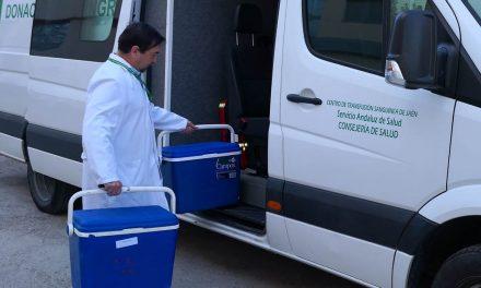 El Centro de Transfusión de Jaén realizará 44 colectas en el mes de septiembre