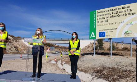 Arrancan las obras de conexión de la Autovía del Olivar con la A-32 en Baeza