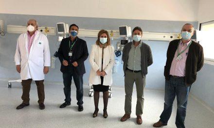 El Hospital de Úbeda finaliza las obras en la Unidad de Reanimación