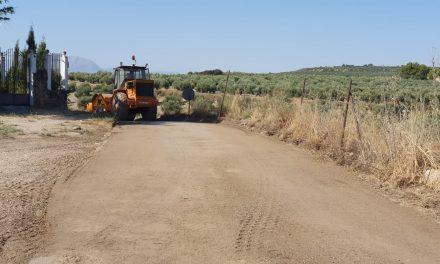 Comienza la intervención para arreglar el camino de Calatrava