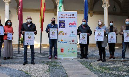 El Ayuntamiento de Úbeda impulsa junto a siete agencias de viajes la campaña promocional para navidad 'regala ilusión, regala viajar'