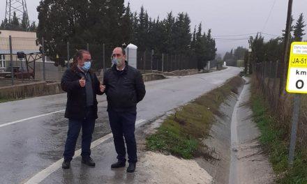 La carretera entre Úbeda y El Mármol será adecuada por Diputación con una inversión cercana a los 338.000 euros