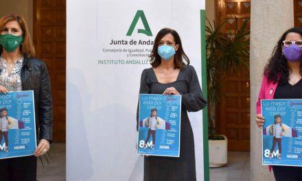 Andalucía pone el foco en la campaña del 8M en la importancia de la educación y las nuevas generaciones para alcanzar la igualdad real