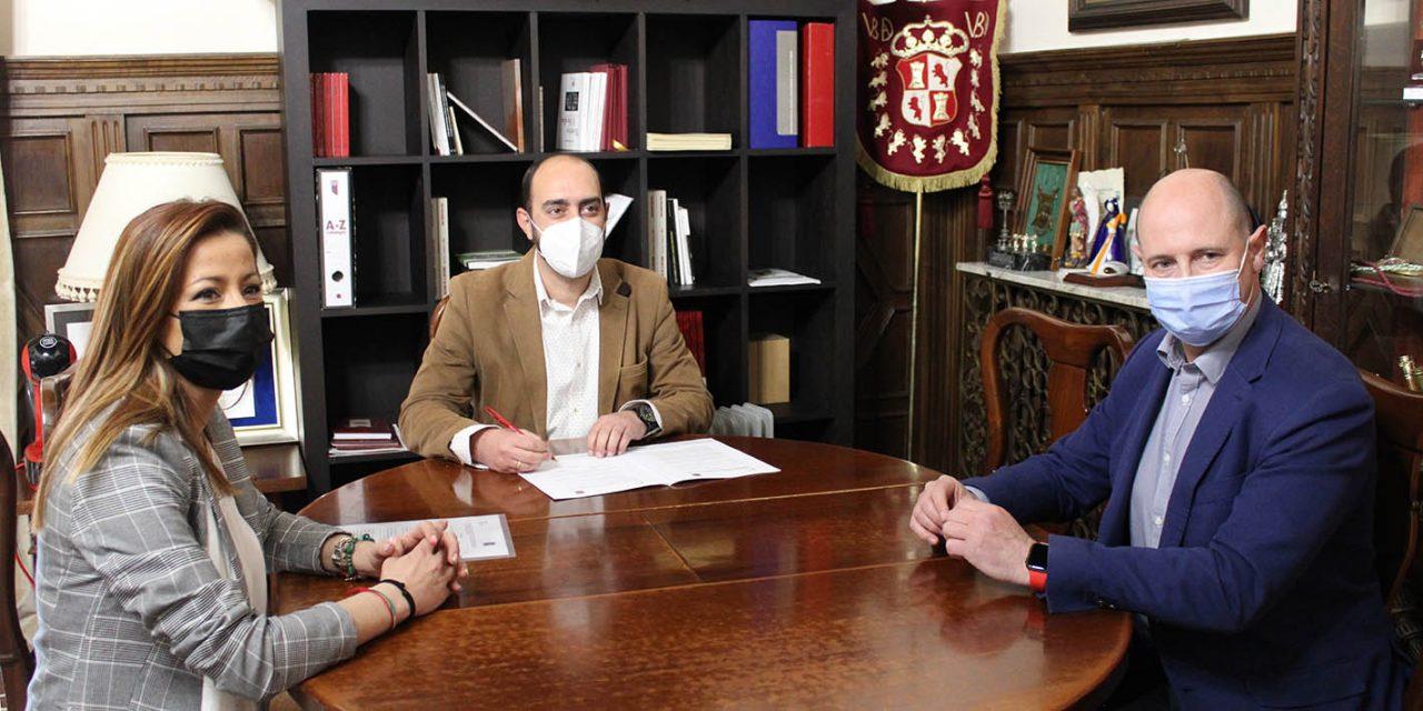 Diputación de Jaén y Ayuntamiento de Úbeda firman un convenio para que la ciudad pueda celebrar audiencias de la Junta Arbitral de Consumo